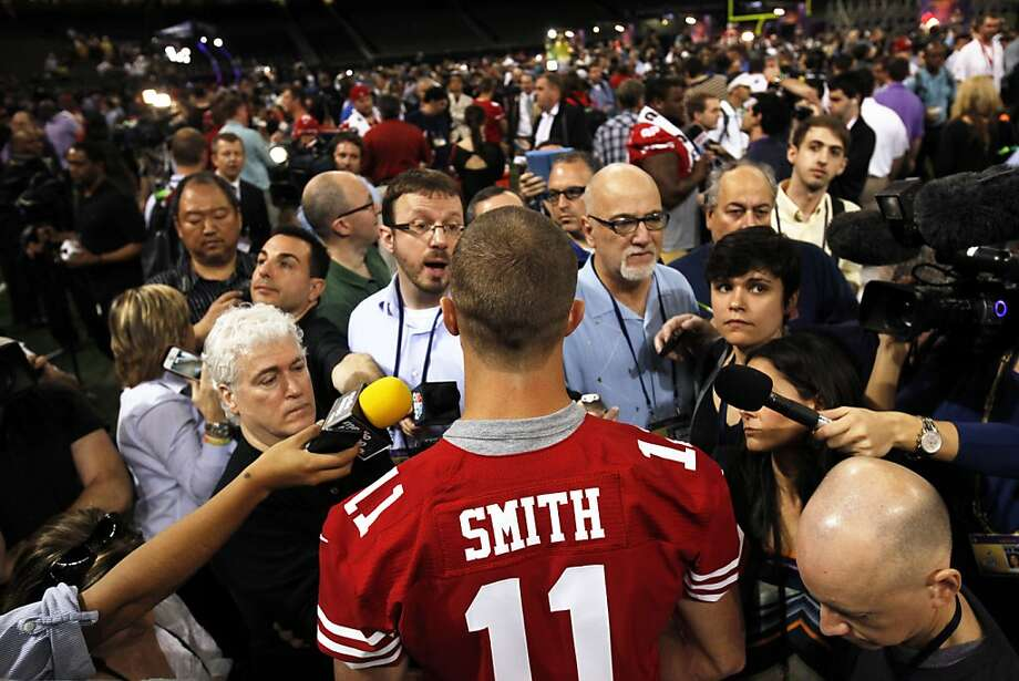 "Alex Smith is in a ""karmic cycle of endings and new beginnings that occur at age 29,"" according to Berkeley astrological consultant Andrea Mallis. Photo: Carlos Avila Gonzalez, The Chronicle"