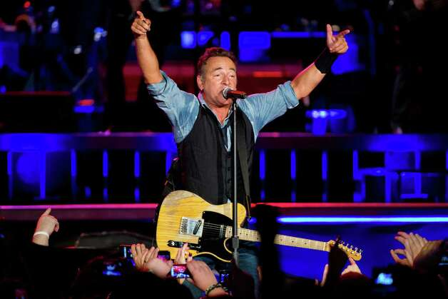 Bruce Springsteen was the key act claimed by Kasey Anderson, according to FBI investigators. He, like the rest of the artists pictured here, had no involvement in the fraud or, apparently, interest in working with Anderson in the benefit series. Click through to see the rest of the stars Anderson is alleged to have sold as part of the fraud. Photo: Jeff Fusco, Getty Images / 2012 Getty Images