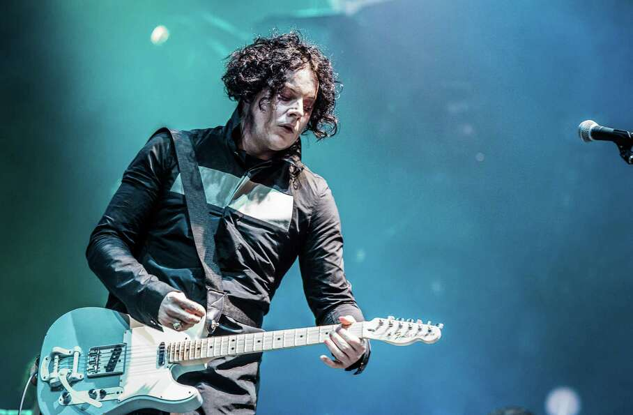 Jack White, pictured at Eurockeennes Music Festival on July 1, 2012 in Belfort, France.
