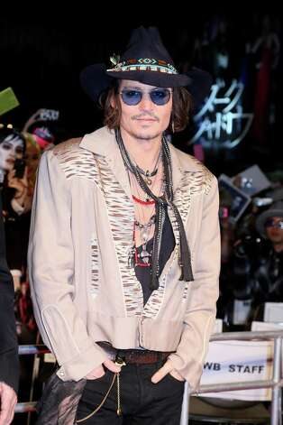 Actor Johnny Depp, pictured at a 'Dark Shadows' Japan Premiere at Roppongi Hills on May 12, 2012 in Tokyo, Japan. Photo: Ken Ishii, Getty Images / 2012 Getty Images