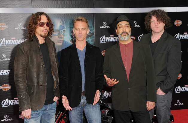 Soundgarden, pictured at the El Capitan Theatre on April 11, 2012 in Hollywood, Calif. Photo: Kevin Winter, Getty Images / 2012 Getty Images