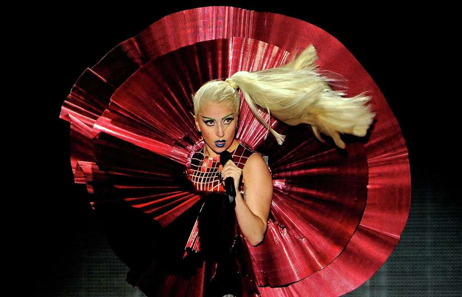 Lady Gaga, pictured at the MTV Europe Music Awards on Nov. 6, 2011 in Belfast, Northern Ireland. Photo: Gareth Cattermole, Getty Images / 2011 Getty Images