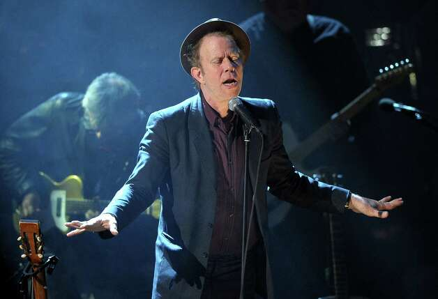 Tom Waits performs at the 26th annual Rock and Roll Hall of Fame Induction Ceremony at The Waldorf-Astoria on March 14, 2011 in New York City. Photo: Michael Loccisano, Getty Images / 2011 Getty Images