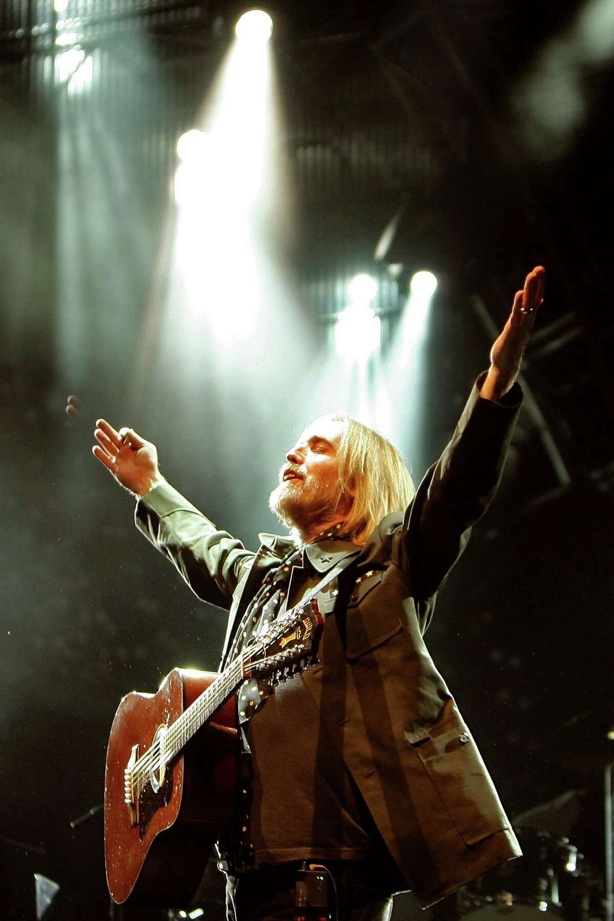 Tom Petty performs on Aug. 23, 2008 at Golden Gate Park in San Francisco, Calif.