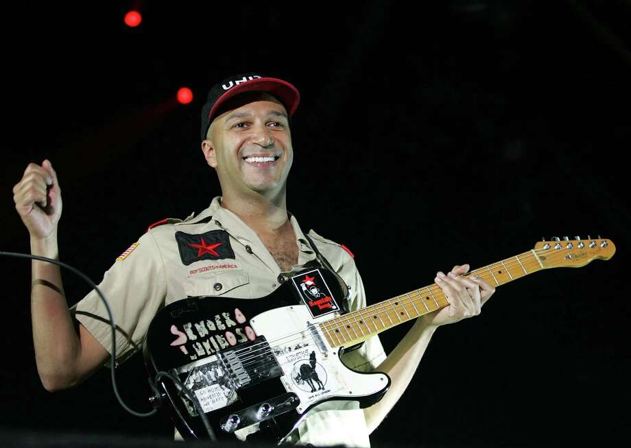 Tom Morello performs on February 3, 2008 in Perth, Australia. Photo: Paul Kane, Getty Images / 2008 Getty Images