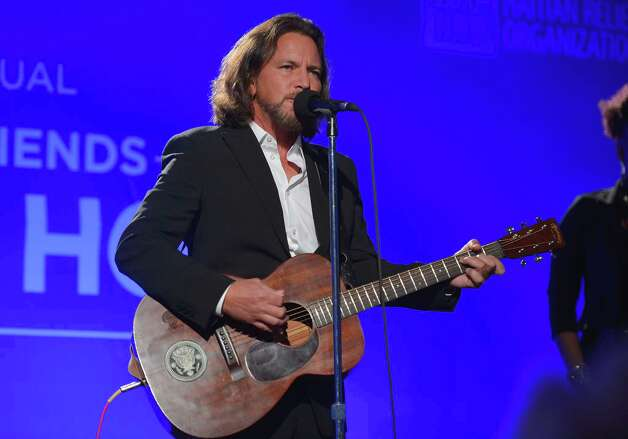 Eddie Vedder performs on Jan. 12, 2013 in Los Angeles. Photo: Alberto E. Rodriguez, Getty Images / 2013 Getty Images