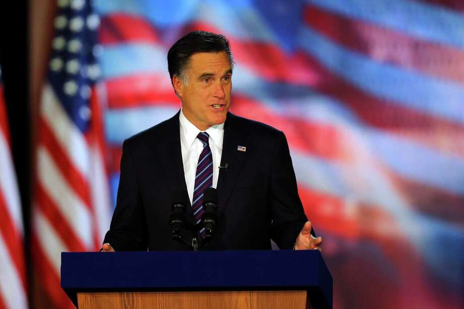 "Mitt Romney's ""47 percent"" remark didn't help his campaign, but that figure can provide an interesting talking point on taxes. Photo: Joe Raedle, Staff / 2012 Getty Images"