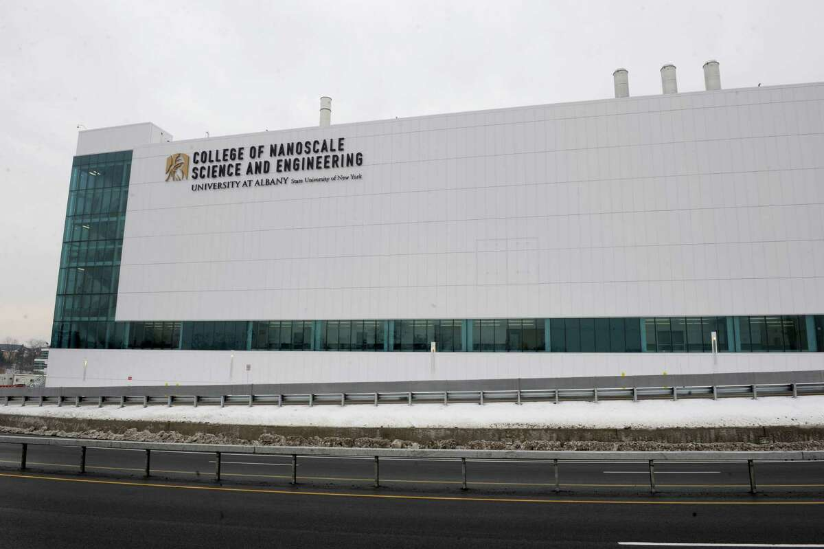 Exterior of College of Nanoscale Science and Engineering University at Albany on Tuesday Jan. 29, 2013 in Albany, N.Y. (Lori Van Buren / Times Union)