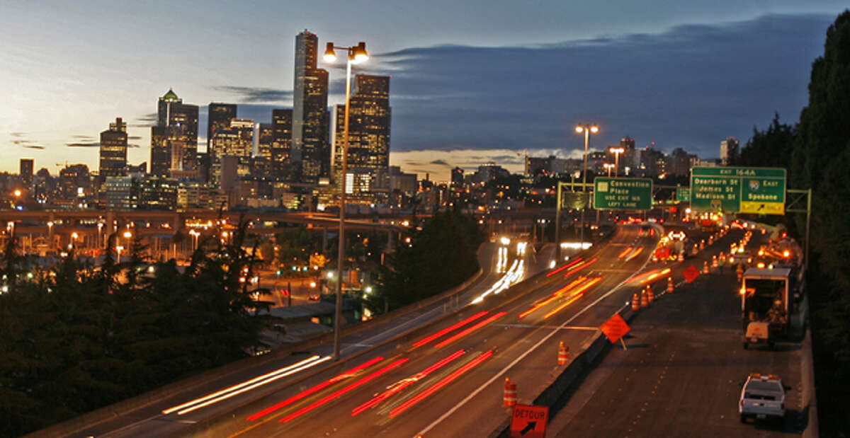 Yeah, there's the traffic. But that means lots of time behind the wheel. Puget Sound ranks on top-10 lists of most congested freeways in America.