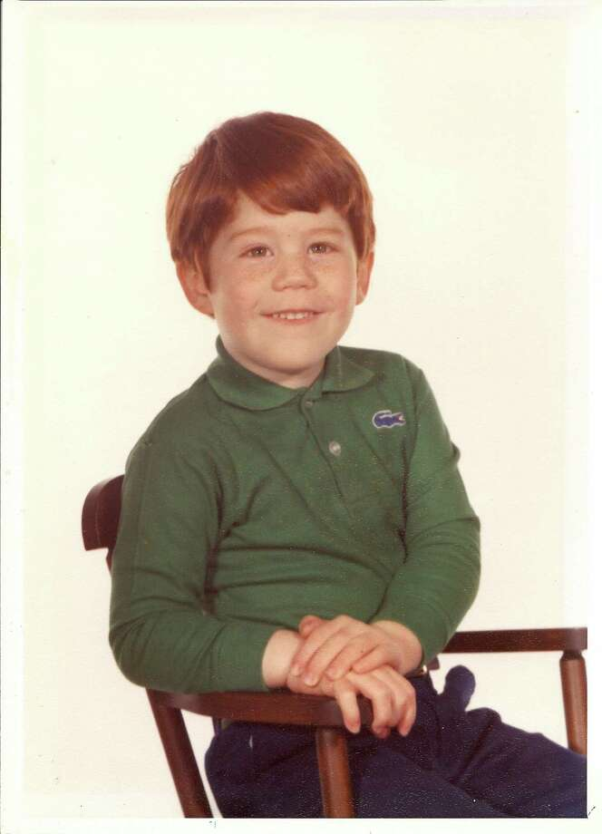 Duncan Crary, founder of the League of Extraordinary Redheads, at 4 years old.