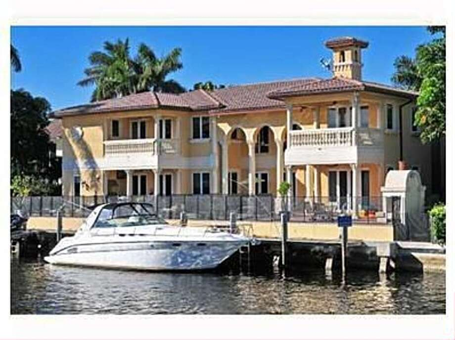 Right on the water. All photos via Zillow