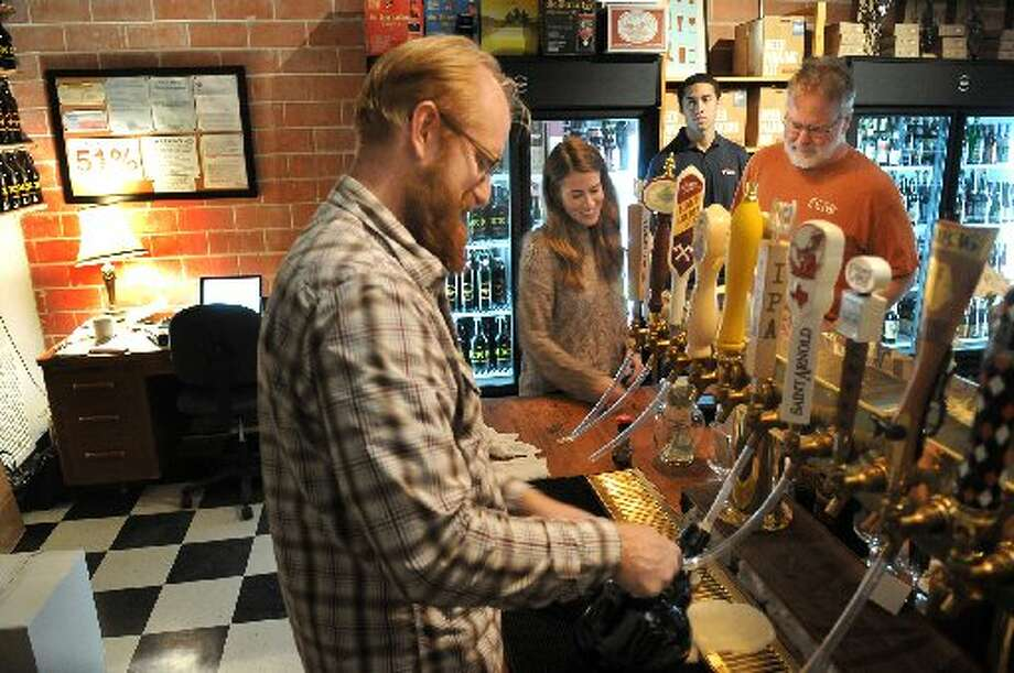 Johnny Orr spent a decade in bar management before opening Premium Draught at 733 Studewood in the Heights. He runs a growler exchange program in which customers pay a deposit, then buy the beer and bring the growler back. Orr will clean it and sell you beer in a new one pulled from a refrigerater.