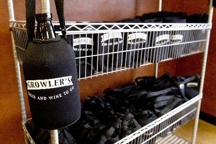Special carriers are available for your growler at both stores.