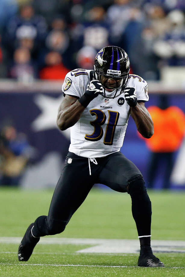 Baltimore Ravens safety Bernard PollardPollard played two seasons with the Texans (2009-2010). Photo: Jared Wickerham, Getty Images / 2013 Getty Images