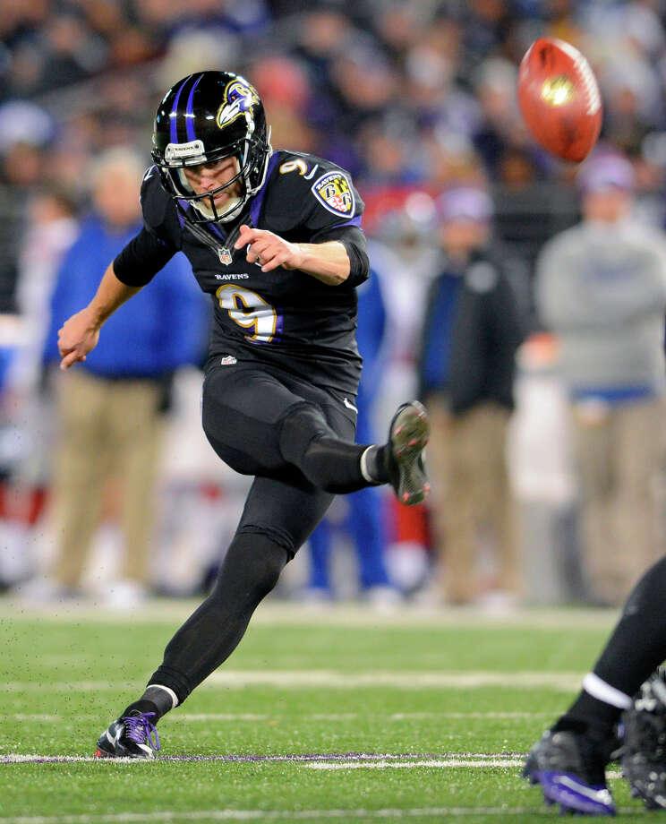Baltimore Ravens kicker Justin TuckerTucker was born in Houston, grew up in Austin and attended the University of Texas. Photo: Doug Kapustin, McClatchy-Tribune News Service / MCT