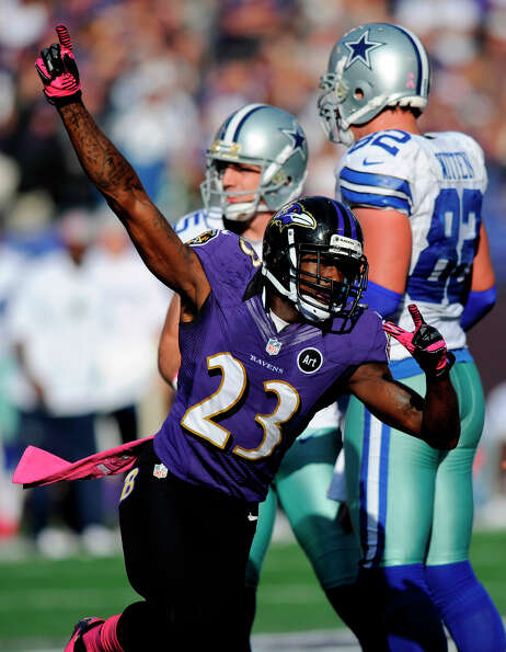 Baltimore Ravens defensive back Chykie BrownBrown was born and rais