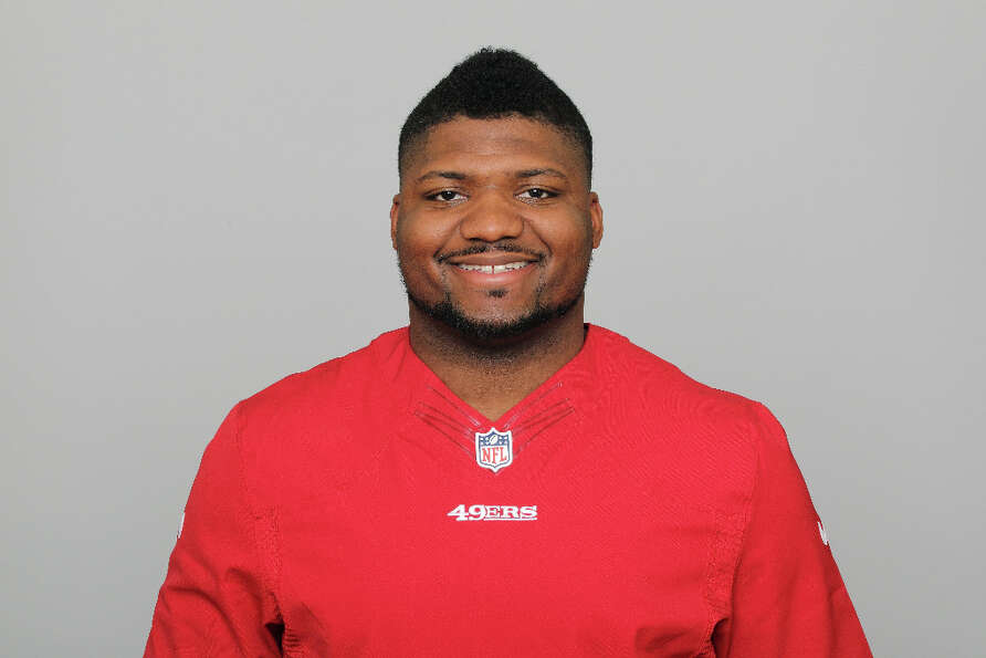 San Francisco 49ers defensive end Tony Jerod-EddieJerod-Eddie was b