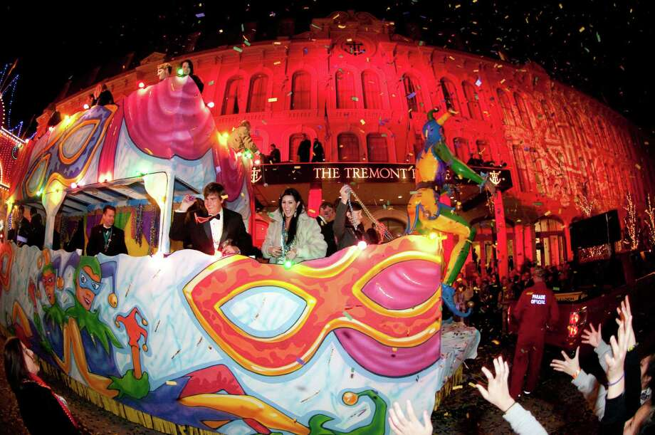 Galveston's Mardi Gras celebration features 24 parades, 38 concerts and five masked balls.