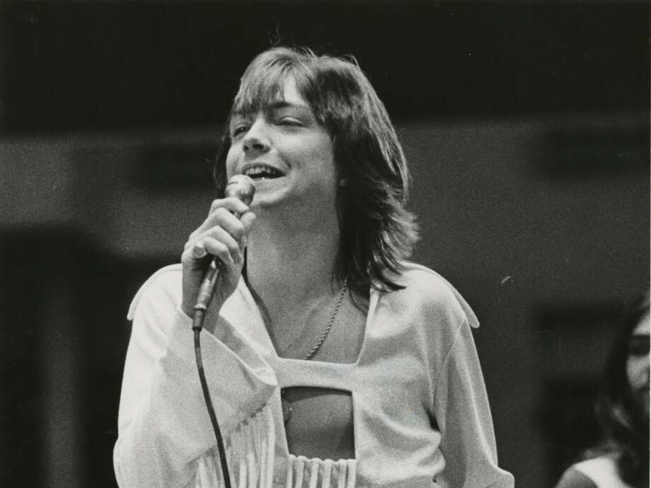 David Cassidy performs at the Houston Livestock Show and Rodeo, March 1972. Photo: Othell O. Owensby, HC Staff