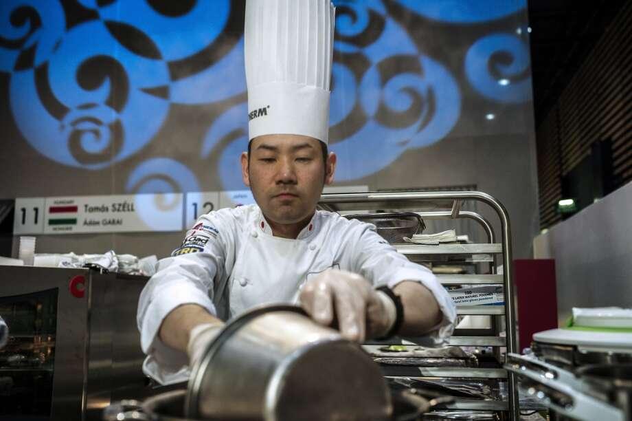 Noriyuki Hamada of Japan: THIRD PLACE