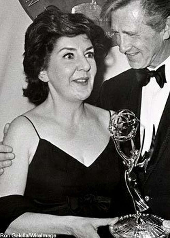 Maureen Stapleton's Emmy win for Among the Paths of Eden (with Lloyd Bridges)