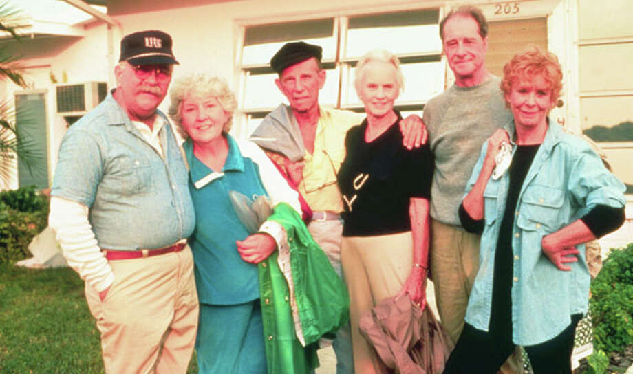Cocoon (with, from left, Wilford Brimley, Hume Cronyn, Jessica Tandy, Don Ameche, Gwen Verdon)