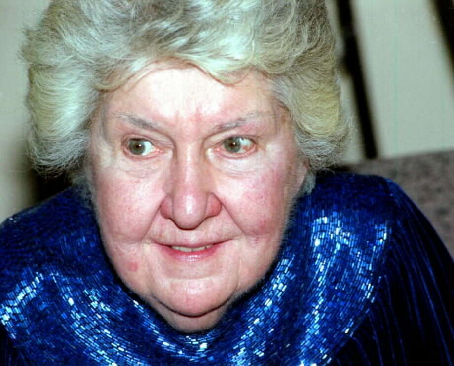 Maureen Stapleton at a Hudson Valley Community College reception in 200) to raise funds to renovate her namesake theater at the school