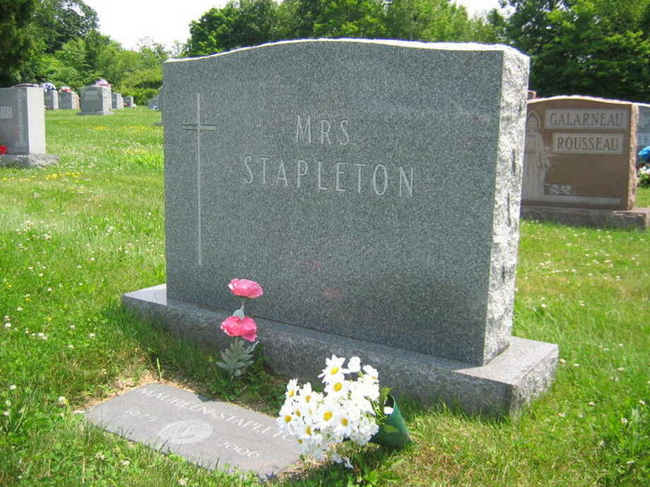 Maureen Stapleton's final resting place, St. Mary's Cemetery, Troy, NY