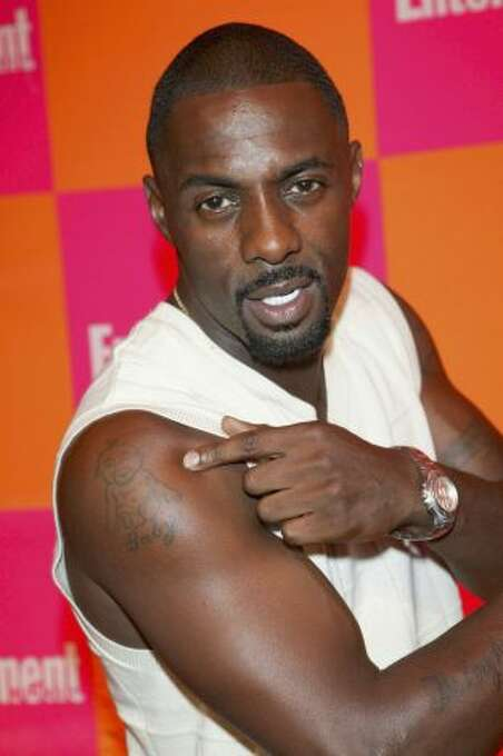 Idris Elba -- in contention for sexiest man of the year.