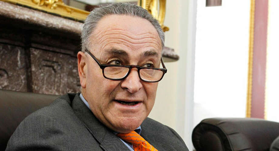 Charles Schumer, one of eight senators seeking comprehensive immigration reform. (AP Photo) Photo: Manuel Balce Ceneta