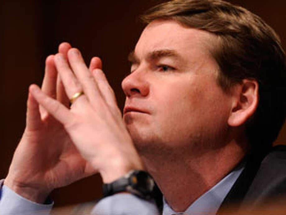 Michael Bennet, one of eight senators seeking comprehensive immigration reform. (AP Photo) Photo: Susan Walsh