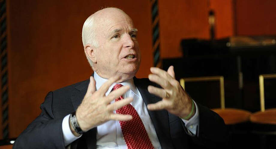 John McCain, one of eight senators seeking comprehensive immigration reform. (AP Photo)