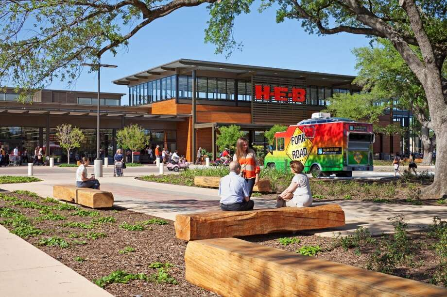 "The winner in the For-Profit Category was H-E-B Montrose Market, by H-E-B Grocery Co. H-E-B was also selected ""People's Choice"" in a vote by ULI members and supporters. H-E-B Montrose Market at 1701 W. Alabama is the first LEED certified H-E-B."