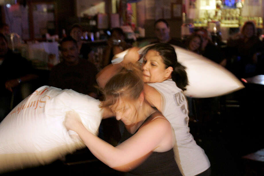 Mustang Sally's, 3428 Roosevelt Ave. This dive bar has featured pillow fights in the past.  Photo: ALICIA WAGNER CALZADA, SPECIAL TO THE EXPRESS-NEWS / Alicia Wagner Calzada