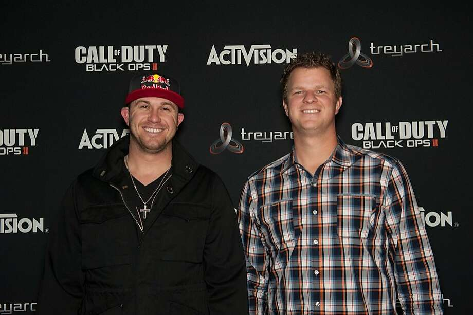 Matt Cain plays Call of Duty: Black Ops II. Photo: Activision Publishing, Courtesy