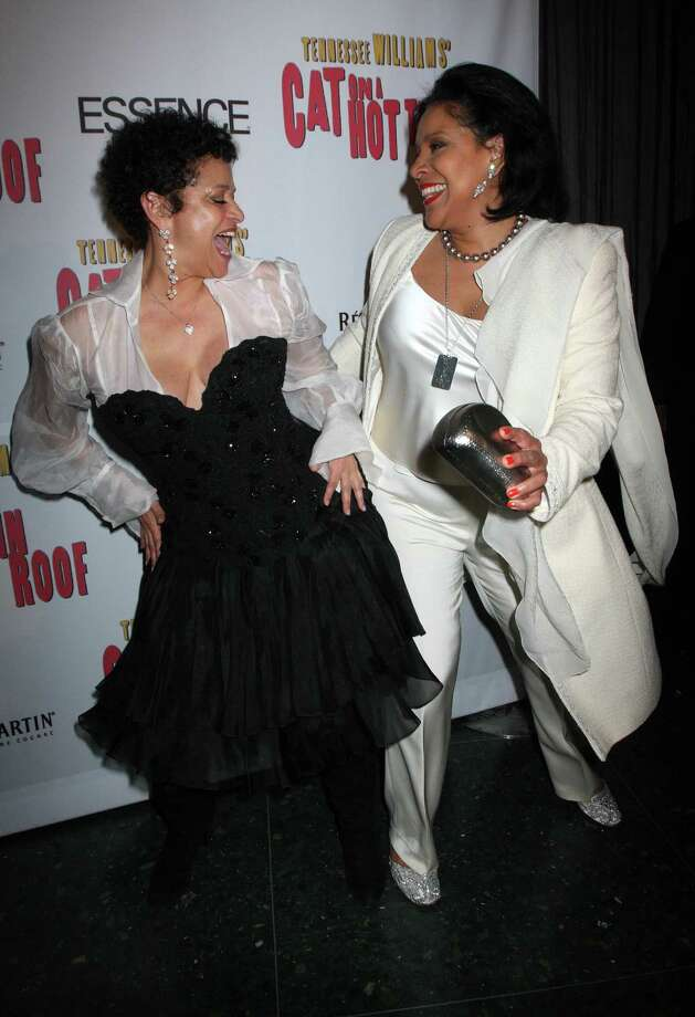 "Debbie Allen, left, is a dance legend, actress, director, and television producer. Her sister, Phylicia Rashad, is an actress best known for her role as Clair Huxtable on ""The Cosby Show."" Photo: Tina Fineberg, AP / Remy Martin"