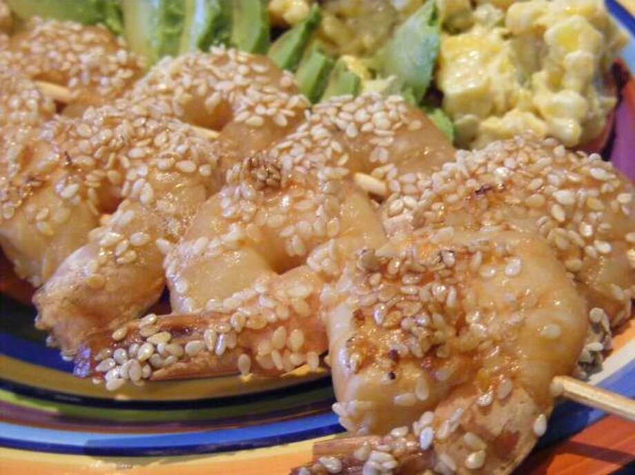 Sesame Shrimp/food.com