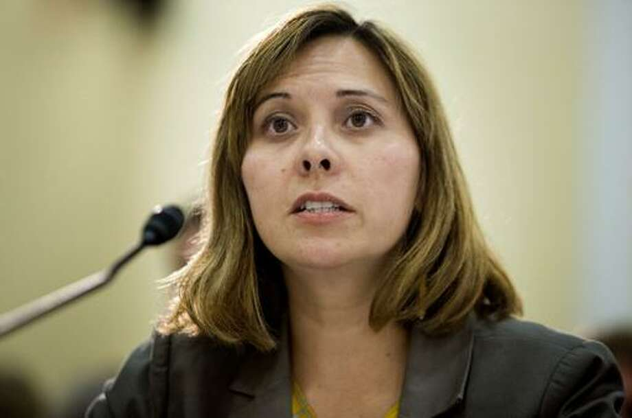 Christy Romero, special inspector for the U.S. Treasury's Troubled Asset Relief Program, testifies at a House Oversight and Government Reform subcommittee hearing in Washington, D.C., U.S., on Tuesday, July 10, 2012. U.S. taxpayers and auto workers would have fared worse if President Barack Obama's auto bailout hadn't improved pensions of some Delphi. (Bloomberg)