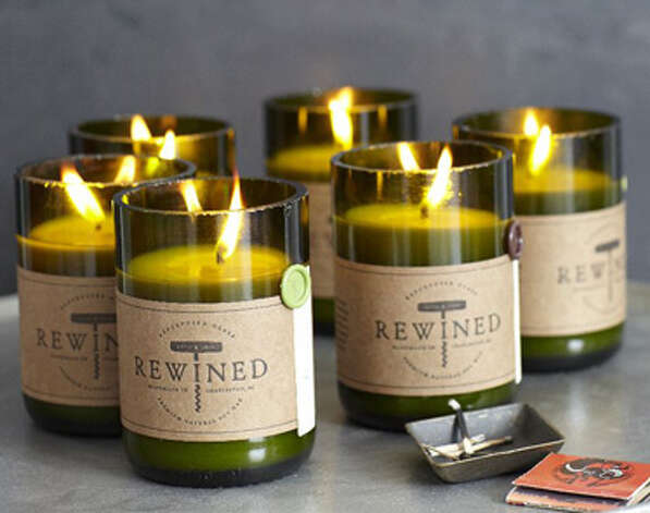 Rewined candle ($25), westelm.com Photo: Esquire.com
