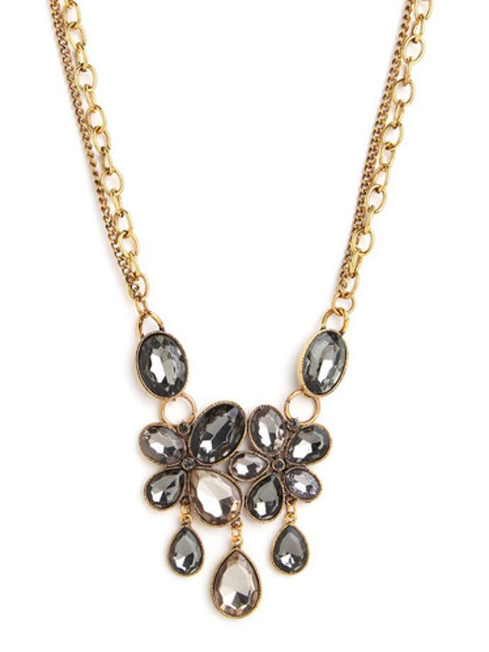 BaubleBar gray marie necklace ($34), baublebar.com Photo: Esquire.com