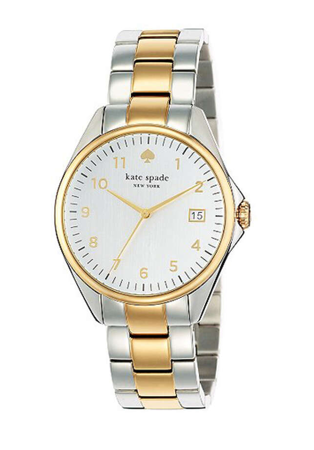 Kate Spade two-tone Seaport Grande watch ($225), katespade.com Photo: Esquire.com