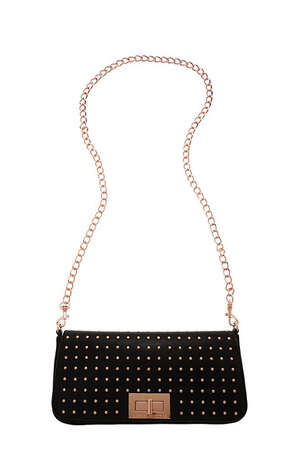 Armani Exchange studded turncloth clutch ($98), armaniexchange.com Photo: Esquire.com
