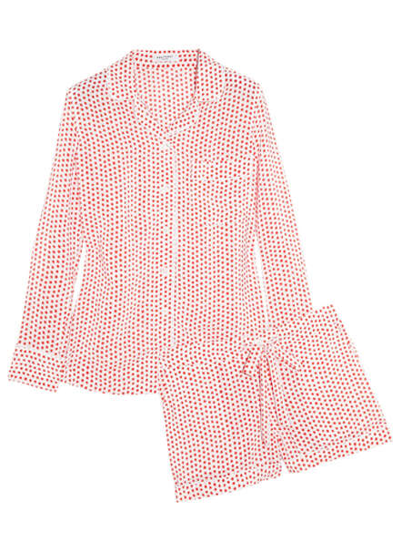Equipment Liliane washed-silk crepe de chine pajama set ($388),