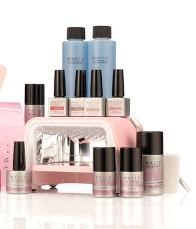 Mally 24/7 Professional 17pc Gel Nail Polish System ($182), mallybeauty.com Photo: Esquire.com