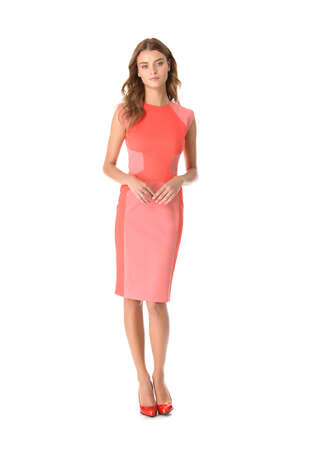 Lela Rose tonal sheath dress ($1,195), shopbop.com Photo: Esquire.com