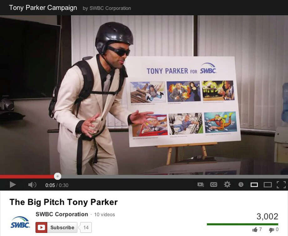 A screen grab of a Youtube video for a SWBC Super Bowl ad.
