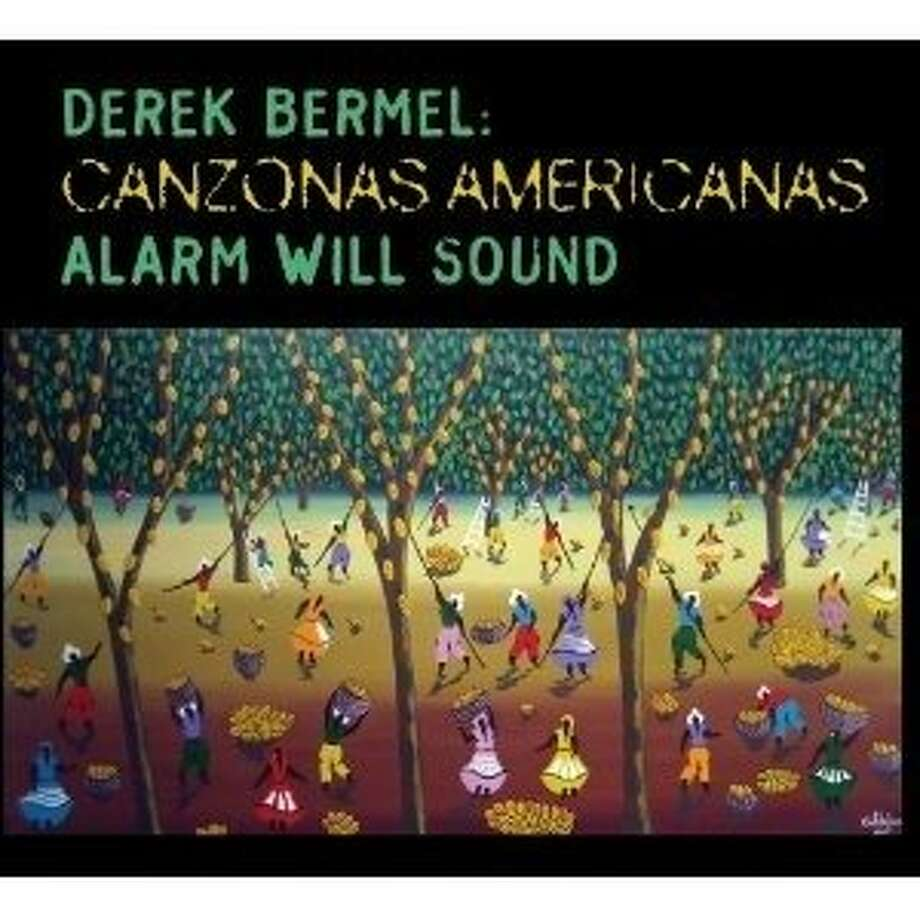 cd cover Canzonas Americanas by Derek Bermel and Alarm Will Sound Photo: Cantaloupe, Amazon.com