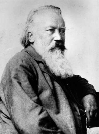 """Even a bad piece by (Johannes) Brahms would be wonderful,"" music director Sebastian Lang-Lessing says of the German composer. Photo: Hulton Archive, Getty Images / Hulton Archive"