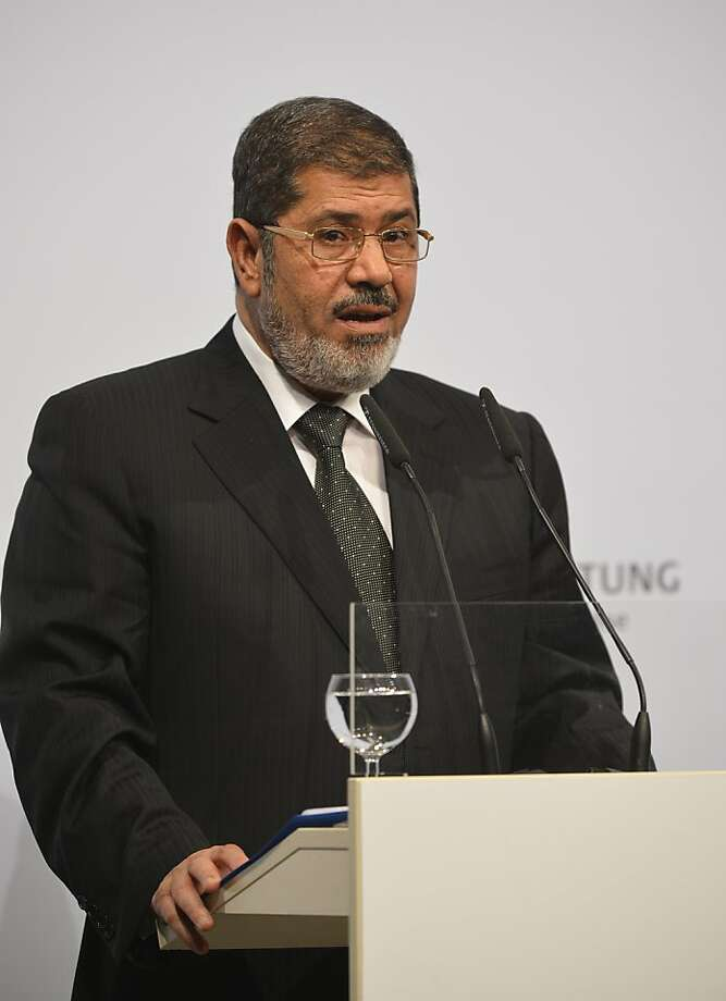 Egyptian President Mohammed Morsi insists that his beleaguered government is stable. Photo: Odd Andersen, AFP/Getty Images