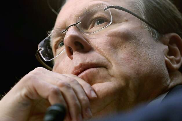 Wayne LaPierre, NRA executive vice president and CEO, testifies. Photo: Chip Somodevilla, Getty Images